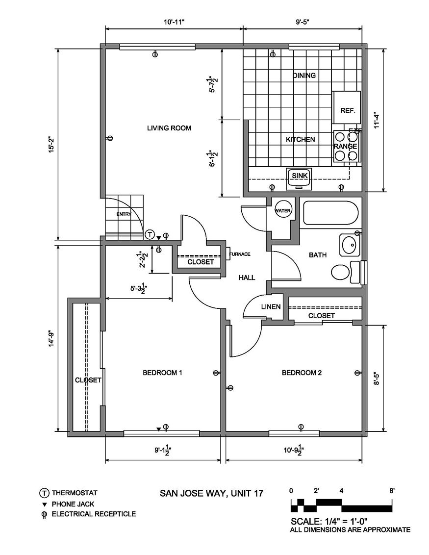 this is a 2 bedroom floor plan 1 bedroom units are identical with